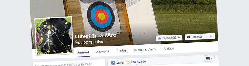 Retrouver également l'actualité d'Olivet Tir à l'Arc sur Facebook !